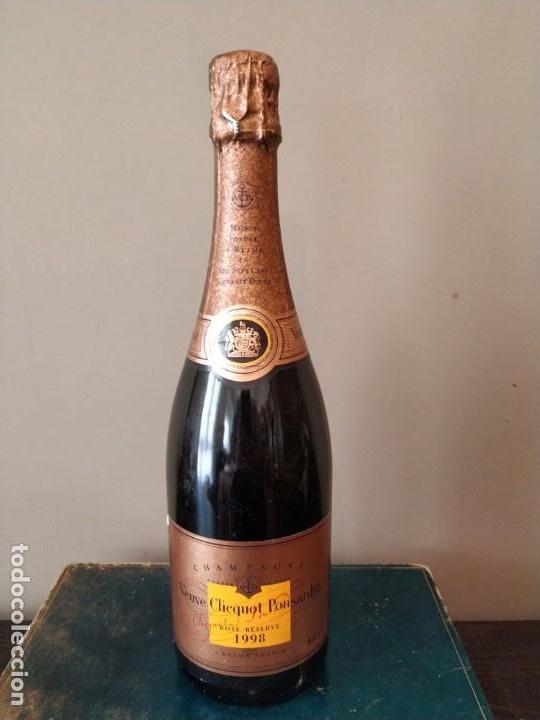 CHAMPAGNE - VEUVE CHICQUOT PONSARDIN - ROSE RESERVE 1998 (Coleccionismo - Otras Botellas y Bebidas )