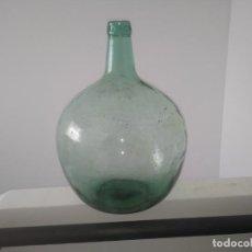 Coleccionismo Otros Botellas y Bebidas: ANTIGUA BOTELLA GARRAFA DAMAJUANA GRANDE DE 16 LITROS PARA DECORACION VINO AGUA. Lote 157995494