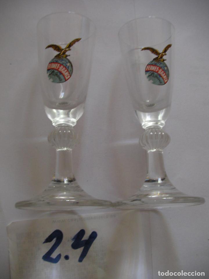 LOTE DE ANTIGUAS COPAS CHUPITOS FERNET BRANCA (Coleccionismo - Otras Botellas y Bebidas )