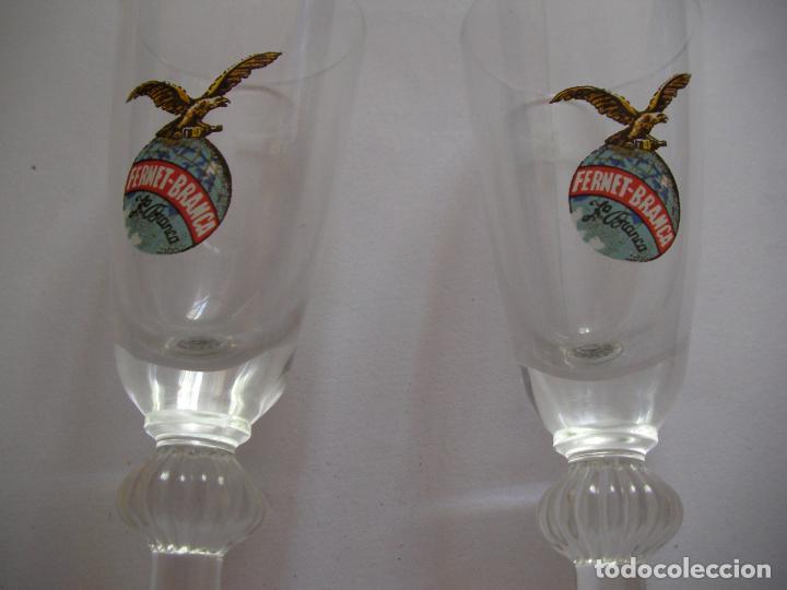 Coleccionismo Otros Botellas y Bebidas: LOTE DE ANTIGUAS COPAS CHUPITOS FERNET BRANCA - Foto 2 - 158323846