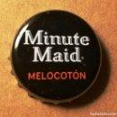 Coleccionismo Otros Botellas y Bebidas: CHAPA MINUTE MAID MELOCOTON. Lote 160809742