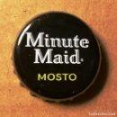 Coleccionismo Otros Botellas y Bebidas: CHAPA MINUTE MAID MOSTO. Lote 160810246
