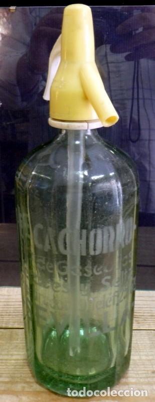 SIFÓN EL CACHORRO DE SEVILLA (Coleccionismo - Otras Botellas y Bebidas )