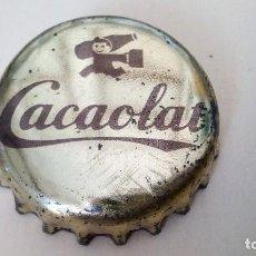 Coleccionismo Otros Botellas y Bebidas: CHAPA CORONA CACAOLAT CORCHO LOGO GRANDE FACTORÍA U. Lote 163406546