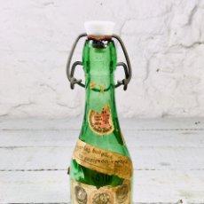 Coleccionismo Otros Botellas y Bebidas: ANTIGUA BOTELLA DE AGUA OXIGENADA DE LABORATORIOS FORET, MIDE 24 CMS. DE ALTO. Lote 163552617