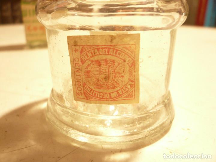 Coleccionismo Otros Botellas y Bebidas: LOTE DE 4 ANTIGUOS FRASCOS DE CRISTAL. LEER DESCRIPCIÓN - Foto 11 - 164767890