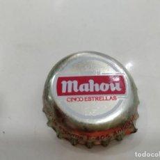 Coleccionismo Otros Botellas y Bebidas: ANTIGUA CHAPA TAPON CORONA CHAPA CERVEZAS MAHOU 5 ESTRELLAS . Lote 166047322