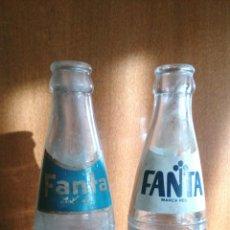 Coleccionismo Otros Botellas y Bebidas: LOTE DE BOTELLAS ANTIGUAS DE FANTA. Lote 166492209
