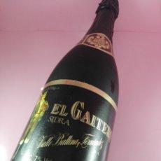 Coleccionismo Otros Botellas y Bebidas: BOTELLA-SIDRA EL GAITERO-ETIQUETA NEGRA-COLECCIONISTAS-2005-VER FOTOS. Lote 166850062
