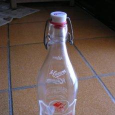 Coleccionismo Otros Botellas y Bebidas: BOTELLA DE GASEOSA LA CASERA EN MUY BUEN ESTADO. Lote 166996880