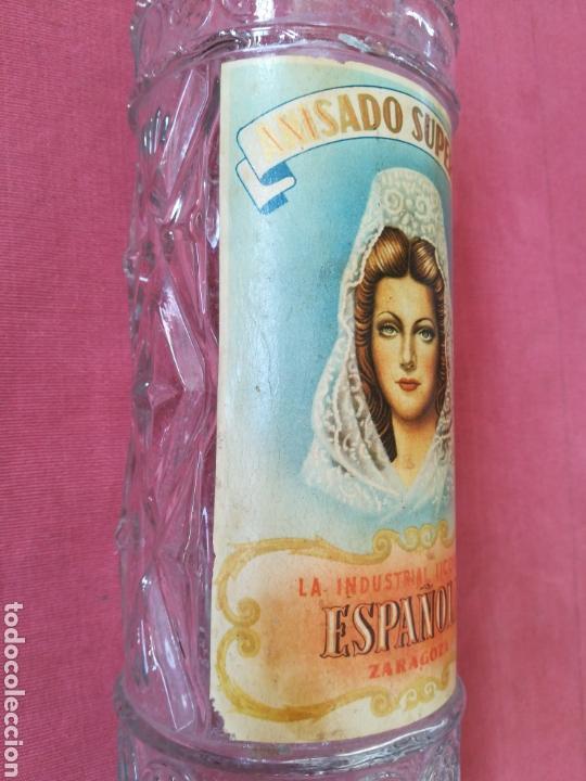 Coleccionismo Otros Botellas y Bebidas: BOTELLA ANIS LA INDUSTRIAL LICORERA ESPAÑOLA - ZARAGOZA - CON SU ETIQUETA - Foto 4 - 167510412