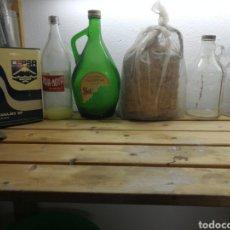 Coleccionismo Otros Botellas y Bebidas: LOTE BOTELLAS ANTIGUAS. Lote 167566201
