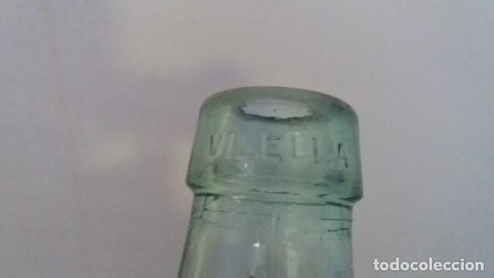 Coleccionismo Otros Botellas y Bebidas: Antigua damajuana garrafa cristal TRANSPARENTE botellas de 8 LITROS marca VILELLA vidrio - Foto 3 - 167630804