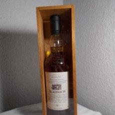 Coleccionismo Otros Botellas y Bebidas: BLADNOCH SCOTH WHISKY 10 AÑOS EN SU CAJA EXPOSITORA ORIGINAL. Lote 168206824