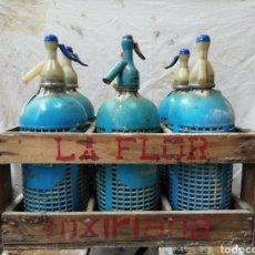 Coleccionismo Otros Botellas y Bebidas: CAJA DE SIFONES. Lote 168790733