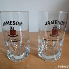 Coleccionismo Otros Botellas y Bebidas: PAREJA DE VASOS PROMOCIONAL JAMESON IRISH WHISKEY (VERSION ESPECIAL). Lote 169340580