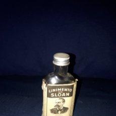 Coleccionismo Otros Botellas y Bebidas: ANTIGUA BOTELLA LINIMENTO DE SLOAN MEDIA BOTELLA. Lote 169348757