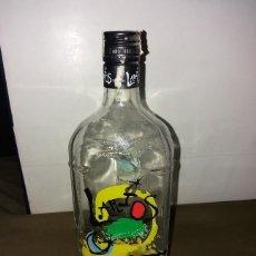 Coleccionismo Otros Botellas y Bebidas: BOTELLA DE GIN, GINEBRA LARIOS EDICION ESPECIAL MIRO.. Lote 169500856
