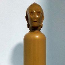 Coleccionismo Otros Botellas y Bebidas: BOTELLA CANTIMPLORA LEGO STAR WARS C-3PO. Lote 89685468