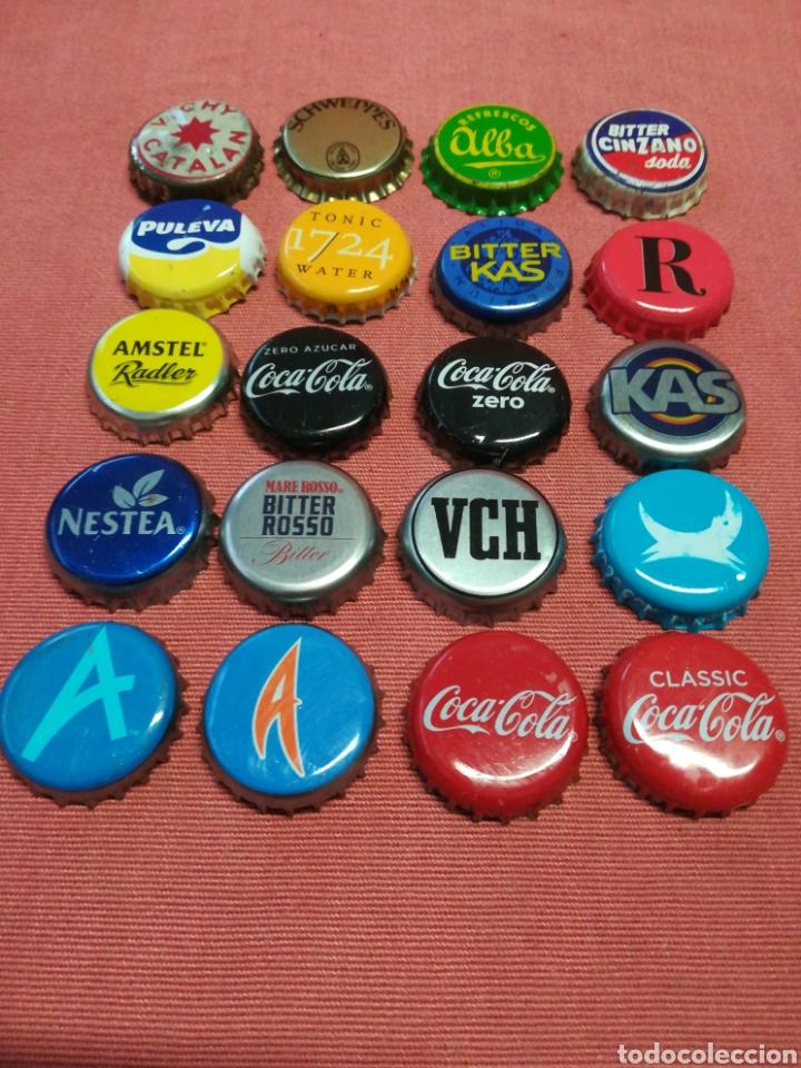 Coleccionismo Otros Botellas y Bebidas: TAPON CORONA - LOTE DE 20 - Foto 3 - 170108904
