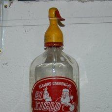 Coleccionismo Otros Botellas y Bebidas: SIFÓN EL SIGLO JOSÉ MONTAÑA DE VALENCIA. Lote 170150000
