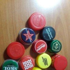 Coleccionismo Otros Botellas y Bebidas: TAPONES ROSCA. Lote 171324759