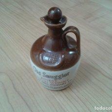 Coleccionismo Otros Botellas y Bebidas: GARRAFA -- BOTELLA -- BARRO VITRIFICADO -- WHISKY -- OLD SMUGGLES -- CASTLES OF SCOTLAND -- 1976 . Lote 171412033