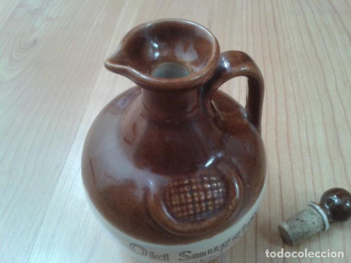 Coleccionismo Otros Botellas y Bebidas: Garrafa -- Botella -- Barro vitrificado -- Whisky -- Old Smuggles -- Castles of Scotland -- 1976 - Foto 6 - 171412033