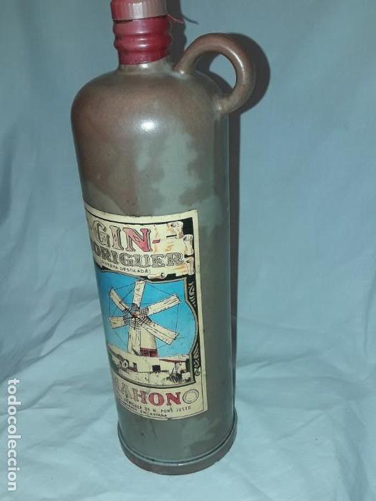 Coleccionismo Otros Botellas y Bebidas: Bella botella Gin Xoriguer con sello vacía Ginebra destilada Mahon - Foto 2 - 171776267
