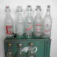 Coleccionismo Otros Botellas y Bebidas: CAJA DE GASEOSAS. Lote 172034858