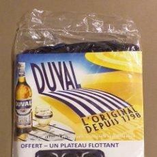 Coleccionismo Otros Botellas y Bebidas: DUVAL. PLATO FLOTANTE PARA 6 VASOS. ORIGINAL! NUEVO CON PRECINTO!!!. Lote 172574950