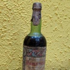 Coleccionismo Otros Botellas y Bebidas: BRANDY NUMANCIA,MUY ANTIGUO AÑO 1960 ETIQUETA 80 CENTIMOS.. Lote 172661290