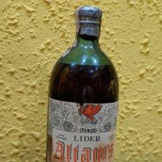 Coleccionismo Otros Botellas y Bebidas: BRANDY ALTAM'S,BRANDY VIEJO AÑO 1960-ETIQUETA 80 CENTIMOS.. Lote 172661379