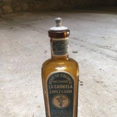 Coleccionismo Otros Botellas y Bebidas: BOTELLA AGUA DE COLONIA LA CARMELA. Lote 172831939