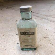 Coleccionismo Otros Botellas y Bebidas: BOTELLA PULVEROL. Lote 172832397