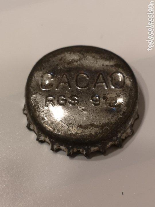 004. TAPÓN CORONA. CACAO. CON CORCHO (Coleccionismo - Otras Botellas y Bebidas )