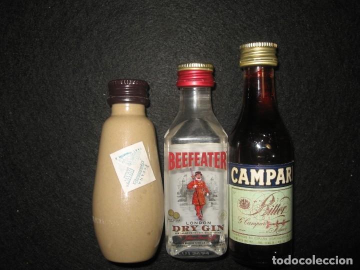 Coleccionismo Otros Botellas y Bebidas: LOTE DE 7 MINI BOTELLAS DE LICOR - Foto 4 - 174497809
