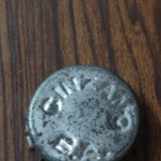 Coleccionismo Otros Botellas y Bebidas: 034. TAPÓN CORONA. CROWN CAPS. CINZANO S.A. Lote 174509449