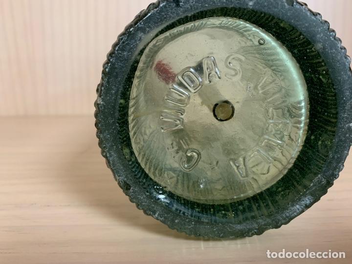 Coleccionismo Otros Botellas y Bebidas: SIFÓN DE TORTOSA ESPUMOSOS CURTO (TELEFONO 100) ANTIGUO SIFON VIDRIO LABRADO - Foto 7 - 174553529
