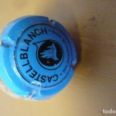 Coleccionismo Otros Botellas y Bebidas: TAPON-CHAPA CASTELLBLANCH AZUL. Lote 174626930