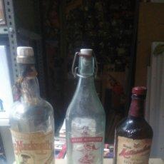 Coleccionismo Otros Botellas y Bebidas: LOTE 12 BOTELLAS ANTIGUAS.. Lote 175326903