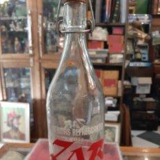 Coleccionismo Otros Botellas y Bebidas: ORENSE GASEOSA ZAR CASTODON 1 LITRO. Lote 176754903