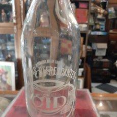 Coleccionismo Otros Botellas y Bebidas: ORENSE CORTINAS GASEOSA CID 1 LITRO. Lote 176755132