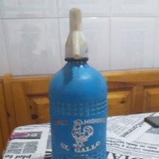 Coleccionismo Otros Botellas y Bebidas: SIFON EL GALLO (MADRID). Lote 176830933