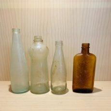 Coleccionismo Otros Botellas y Bebidas: LOTE DE CUATRO BOTELLINES ANTIGUOS PARA DECORACIÓN. Lote 177339273
