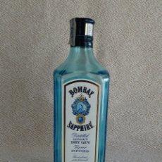 Coleccionismo Otros Botellas y Bebidas: BOTELLA VACIA GINEBRA GIN BOMBAY INGLATERRA 70 CL. Lote 178052529