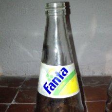Coleccionismo Otros Botellas y Bebidas: BOTELLA DE REFRESCO FANTA LIMÓN 1 LITRO. Lote 178096307
