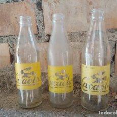 Coleccionismo Otros Botellas y Bebidas: LOTE BOTELLAS CACAOLAT SERIGRAFIADAS. Lote 178115647
