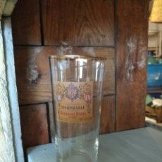 Coleccionismo Otros Botellas y Bebidas: VASO VINTAGE DE BRANDY INSUPERABLE. Lote 248655430