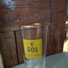 Coleccionismo Otros Botellas y Bebidas: VASO 501. Lote 178737220